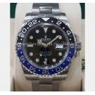 NEW - ROLEX 116710BLNR GMT II Blue Black Ceramic Bezel Auto S/S 40mm