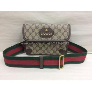 SOLD - GUCCI Canvas Sling Bag