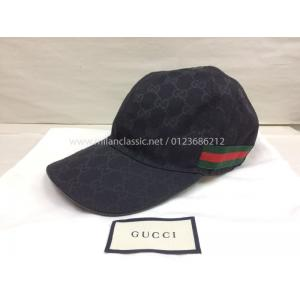 SOLD - GUCCI GG Canvas Baseball Cap