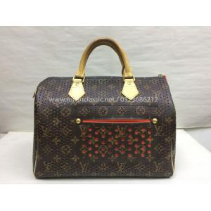 LIMITED EDITION - LV Perforated Speedy 30
