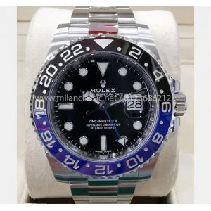 SOLD - NEW - ROLEX GMT MASTER II 116710BLNR 40mm (Discontinue Model)
