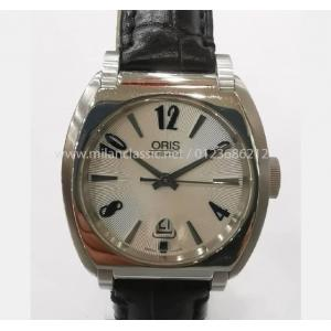 SOLD - ORIS Frank Sinatra Date White Dial S/S Auto 29mm