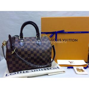 SOLD - NEW - LV Damier Speedy Bandouliere 25