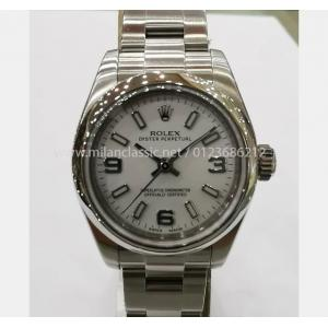 "SOLD - ROLEX 176200 Lady White Dial Auto S/S 26mm ""G-Series"""