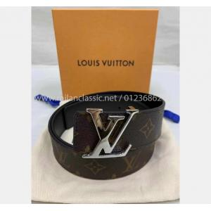 NEW - LV Monogram Initiales 40mm Reversible Belt