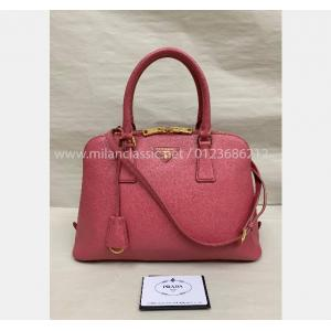 SOLD - PRADA Pink Leather 2-Way Bag