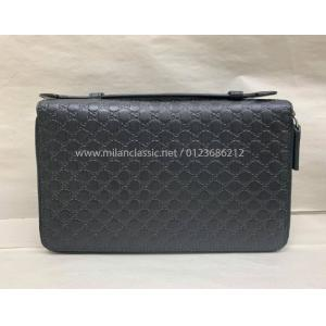 SOLD - NEW - GUCCI Black Leather Organiser