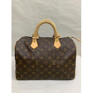 SOLD - LV Monogram Speedy 30 With Knitted Handle