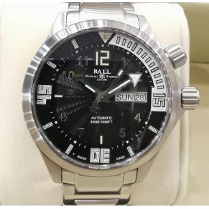 SOLD - BALL Engineer Master II Diver Black Dial Auto S/S 42mm (With Box + Card)