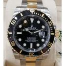 "NEW - Rolex 116613LN Submariner Black Dial Ceramic Bezel Auto 18K/SS 40mm ""Random Series"" (With Box + Card)"