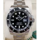 NEW - ROLEX 116610LN Submariner Black Dial Ceramic Bezel Auto S/S 40mm