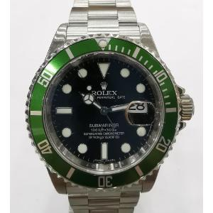 "SOLD - ROLEX 16610LV Kermit 50th Anniversary Submariner Green Bezel Auto S/S 40mm ""M-Series"""