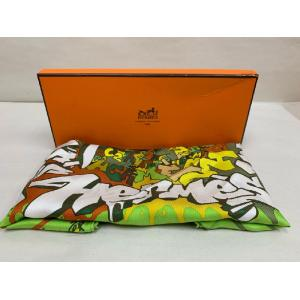 NEW - HERMES Pocket Square Silk Twill Neck Tie Scarf