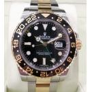"ROLEX 116713LN GMT II Black Ceramic Bezel Auto 18K/SS 40mm ""Random Serial"" (With Box + Card)"