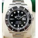 "NEW - Rolex 116610LN Submariner Black Dial Ceramic Bezel Auto S/S 40mm ""Random Series"" (With Box + Card)"