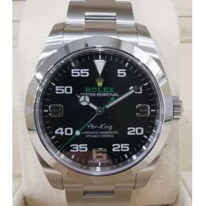 "SOLD - NEW - ROLEX 116900 Air-King Black Dial Auto ""Random Serial"" 40mm"