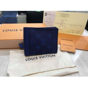 NEVER BEEN USE - LV Monogram & Taiga Leather Multiple Wallet (Hot-Stamping)