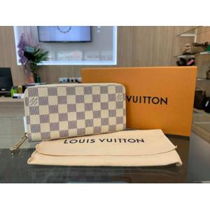 NEW - LV Damier Azur Zippy Wallet