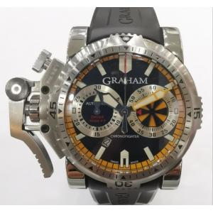 GRAHAM Chronofighter Oversize Diver Black Dail S/S Auto 47mm