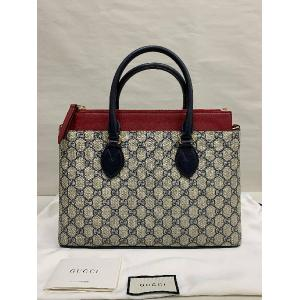 GUCCI GG Coated Canvas Linea A Convertible Tote Bag