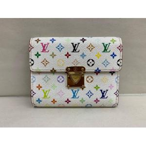 SOLD - LV Multicolor White Portefeuille Koala