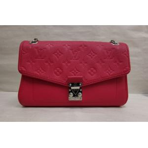 LV Monogram Red Empreinte Leather Saint Germain PM