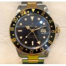 ROLEX 16753 Vintage Gmt Master Auto Steel/Gold 40mm