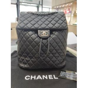 CHANEL Black Classic Small Urban Spirit Backpack