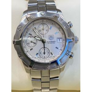 TAG HEUER Exclusive Chrono Silver Dial Auto S/S 40mm