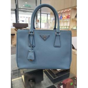 PRADA Blue Galleria Saffiano Leather Medium Bag