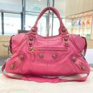 BALENCIAGA Rose Pink Giant City Bag