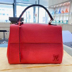 LV Epi Leather Cluny BB Red