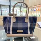 NEW - BURBERRY Blue Label Crestbridge Canvas Tote Bag