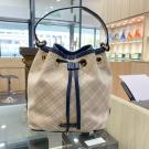 SOLD - UNUSED - BURBERRY Blue Label Crestbridge Canvas Bucket Bag