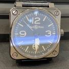BELL & ROSS BR01-92 Ceramic & Stainless Steel Automatic 46mm